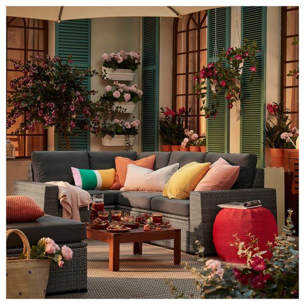 Catalogo IKEA terrazas primavera verano SERIES SOLLERON sofa esquinero