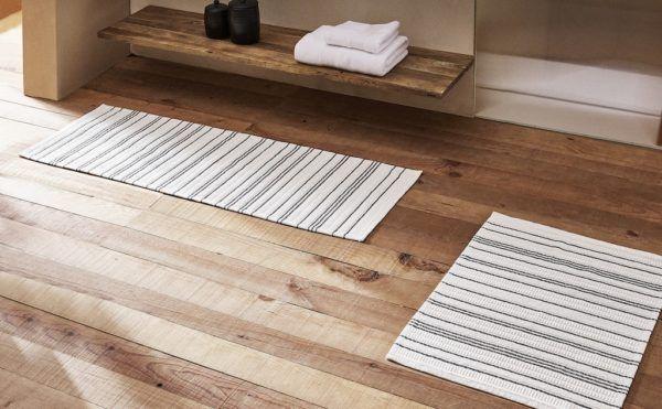 Catalogo ZARA HOME primavera verano 2021 BAÑO alfombra baño