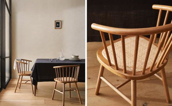 Catalogo ZARA HOME primavera verano 2021 COMEDOR sillas madera ratan
