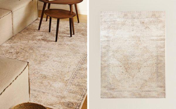 Catalogo ZARA HOME primavera verano 2021 alfombra vintage