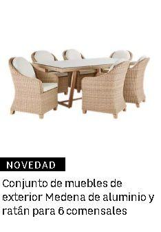 Conjunto de muebles de exterior Leroy Merlín