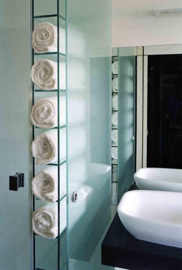 Como colocar las toallas en el bano decoracion armario puertas correderas