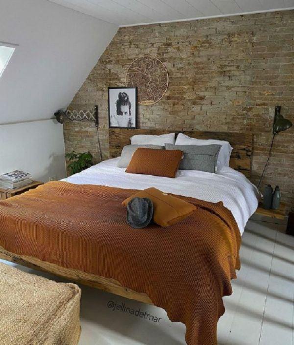 Como decorar tu cuarto estilo aesthetic cabecero madera