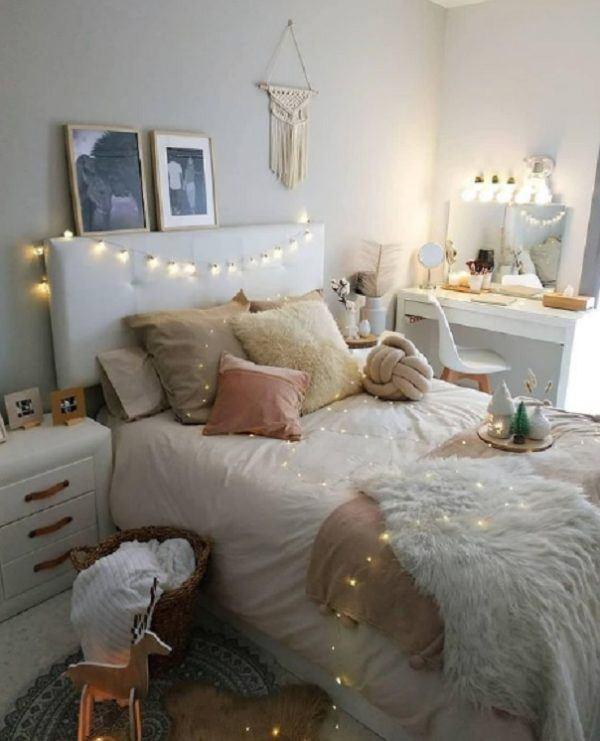 Como decorar tu cuarto estilo aesthetic luces light