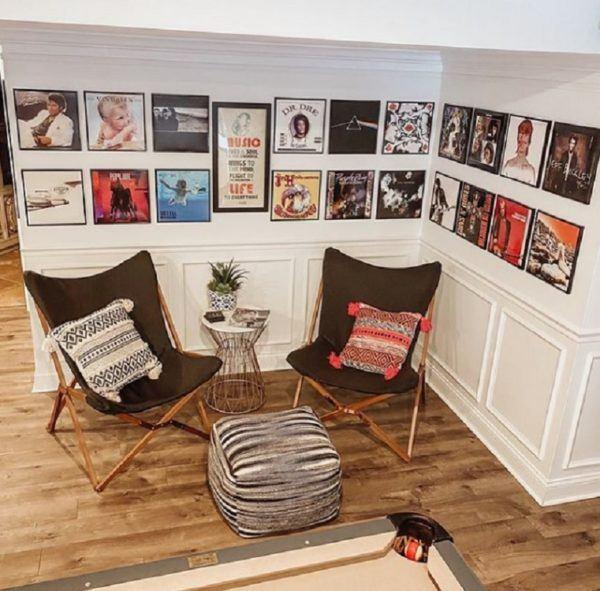 Como decorar tu cuarto estilo aesthetic pared con vinilos
