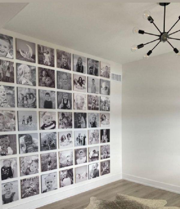 Como decorar tu cuarto estilo aesthetic pared fotos