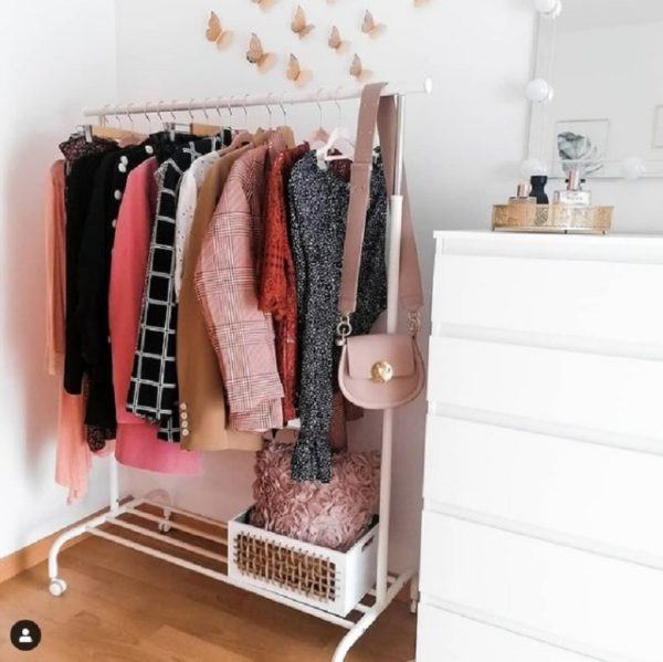 Como decorar tu cuarto estilo aesthetic perchero