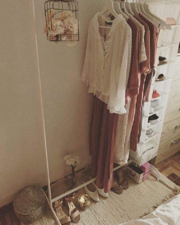 Como decorar tu cuarto estilo aesthetic percheros