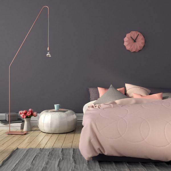 Decoracion dormitorio aesthetic puff