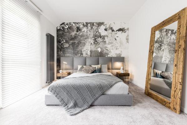 Decoracion dormitorio estilo aesthetic espejo