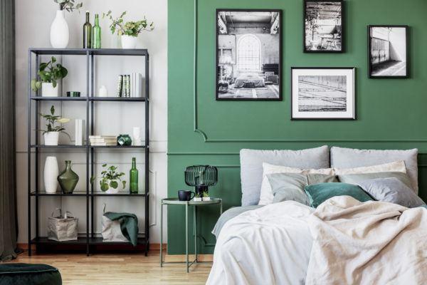 Decorar dormitorio aesthetic marcos colores pared
