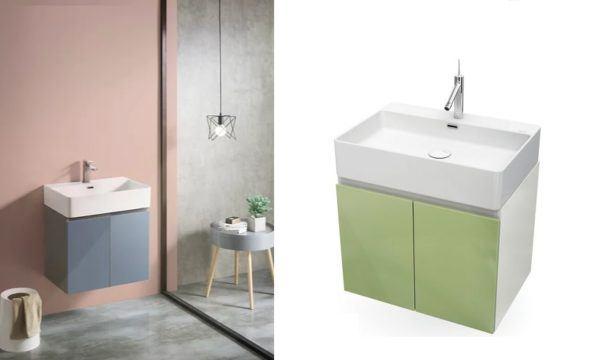 Baños modernos leroy merlin mueble colgante