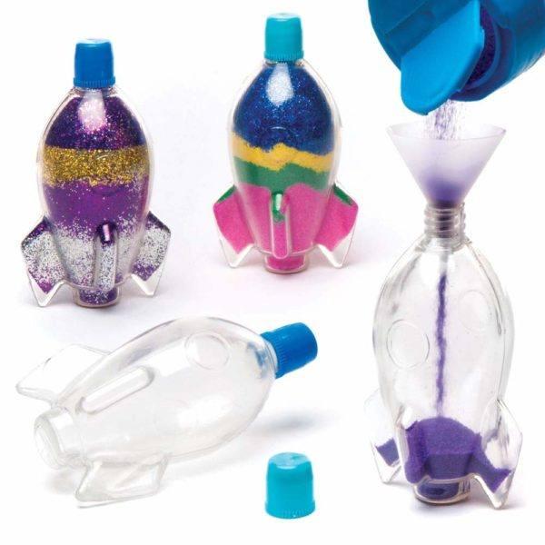 Manualidades dia de la madre con botellas de plastico elemento decorativo