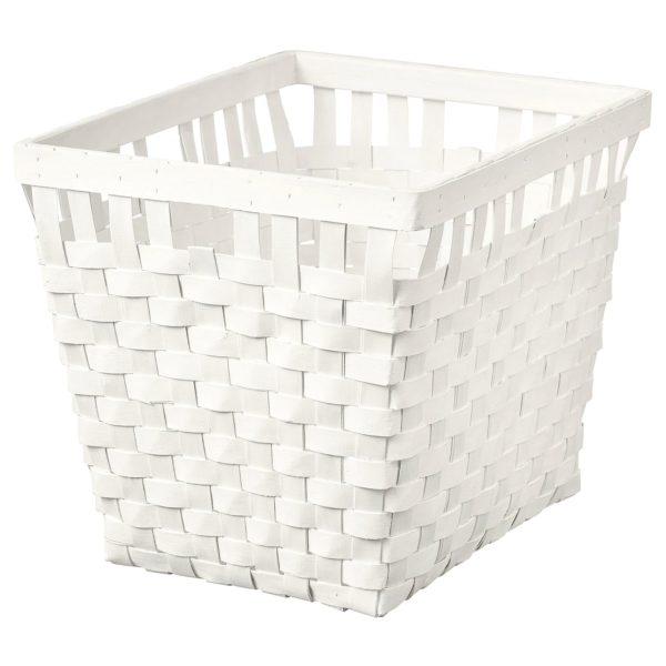 Lampara diy con una cesta de ikea cesta modelo knarra