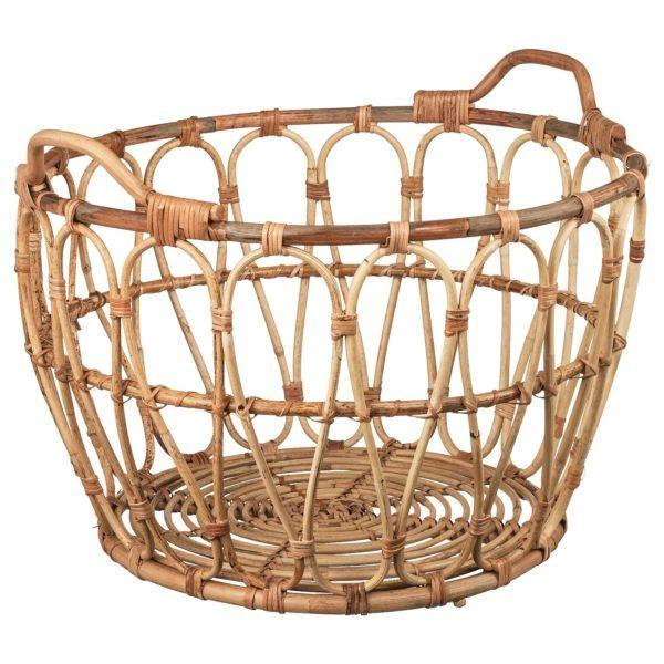 Lampara diy con una cesta de ikea cesta modelo snidad