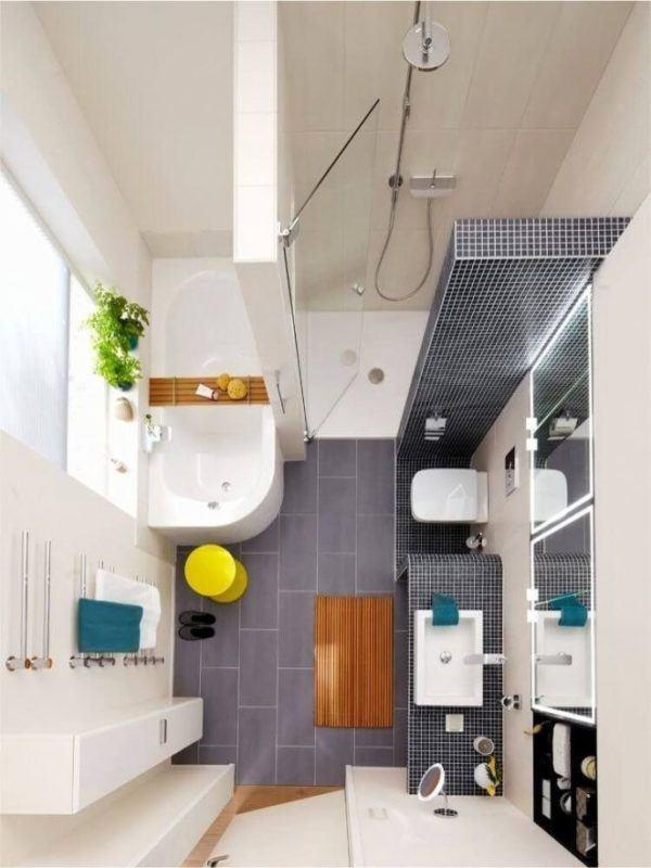 Banos pequenos ideas elementos bañera ducha