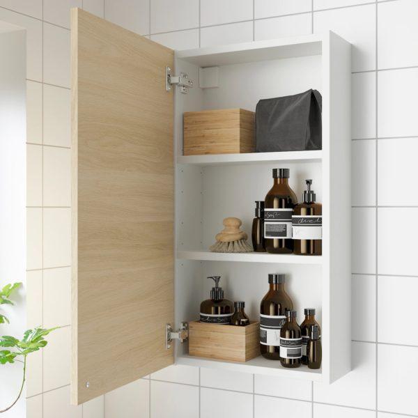 Baños pequeños ikea armario enhet