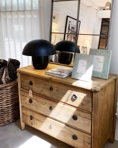 Mueble madera reciclado casa de campo