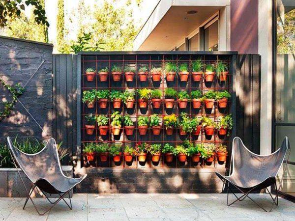 Madera exterior jardines y terrazas balcon macetas
