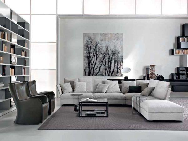 Salones con encanto salon color gris