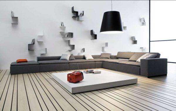 Salones con encanto salon con sofa bajito