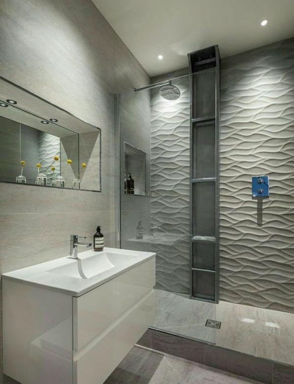10 reformas de banos pequenos para inspirarte 2021 2022 baño paredes grises