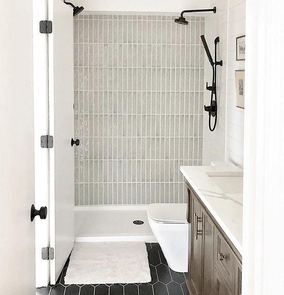 15 banos pequenos con ducha 2021 2022 pared