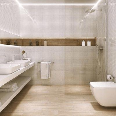 15 banos pequenos con ducha 2021 2022 suelo laminado
