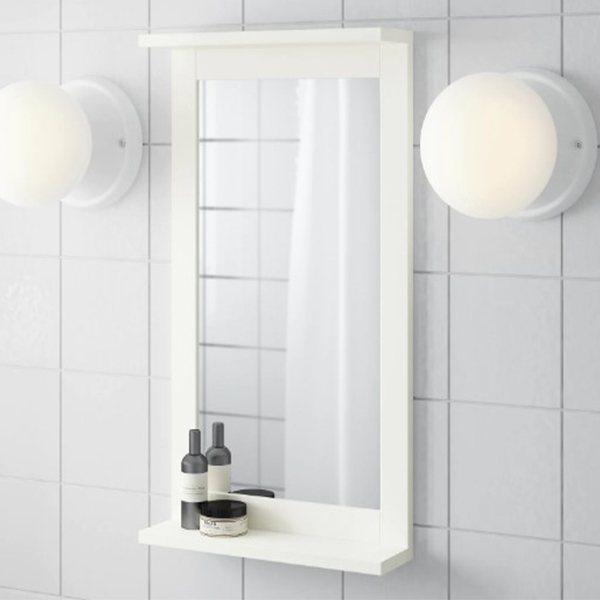Catalogo de banos pequenos ikea 2021 2022 espejo silveran