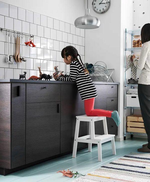 Catalogo de cocinas pequeñas IKEA 2021 2022 cocina ARKESUND