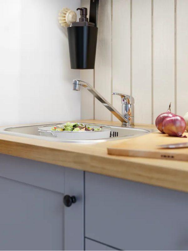 Catalogo de cocinas pequeñas IKEA 2021 2022 cocina grifo lafgan
