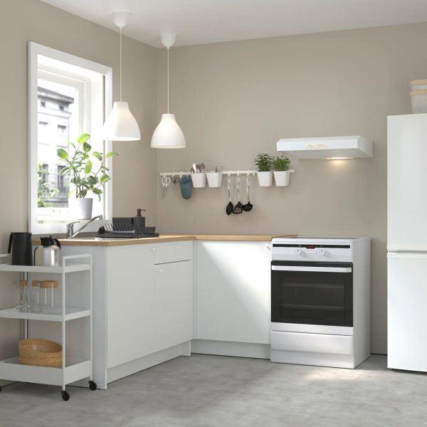 Catalogo de cocinas pequeñas IKEA 2021 2022 cocina modular elemento colgante
