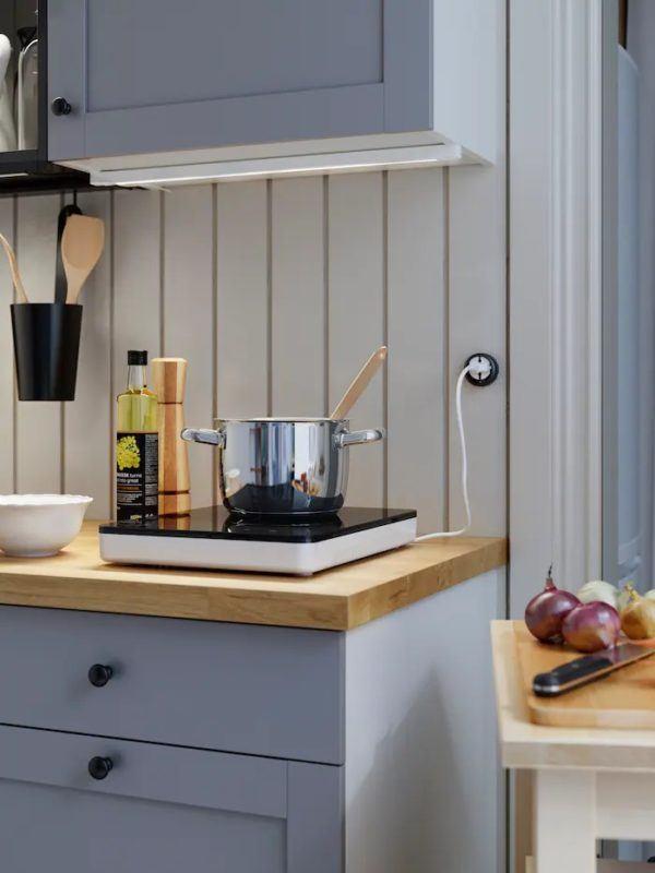 Catalogo de cocinas pequeñas IKEA 2021 2022 cocina portatil