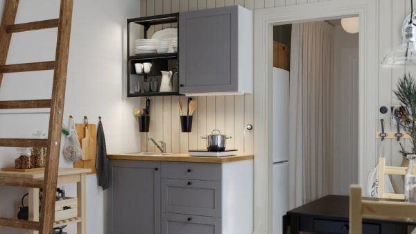 Catalogo de cocinas pequeñas IKEA 2021 2022 cocina rincon
