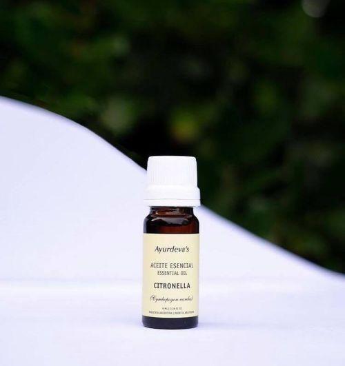 Aceite esencial de citronella