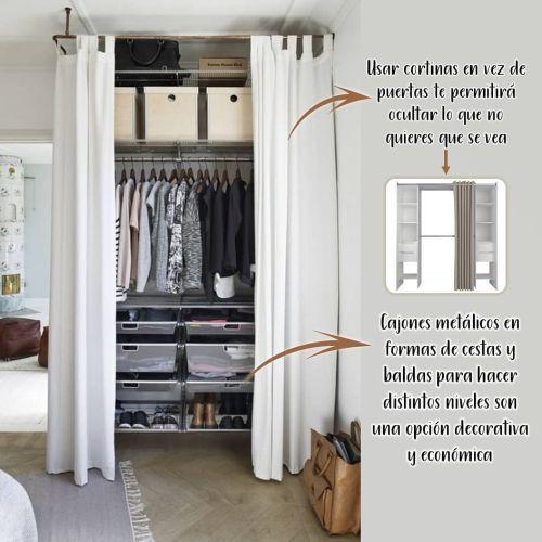 Ideas de decoración para armarios