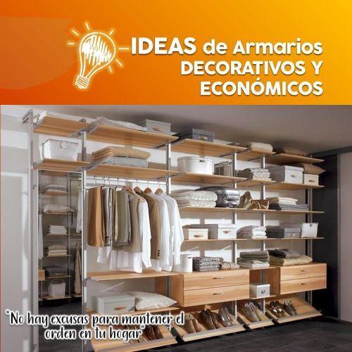 Ideas para decorar armarios
