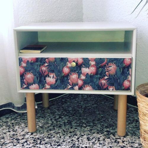 Muebles a la tiza