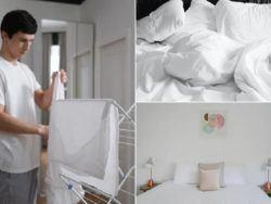 5 trucos para mantener las sábanas blancas