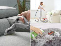 Cómo limpiar un sofá de tela paso a paso