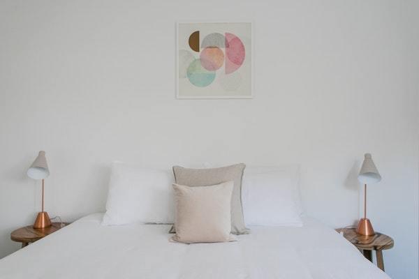 Blancura de ropa de cama