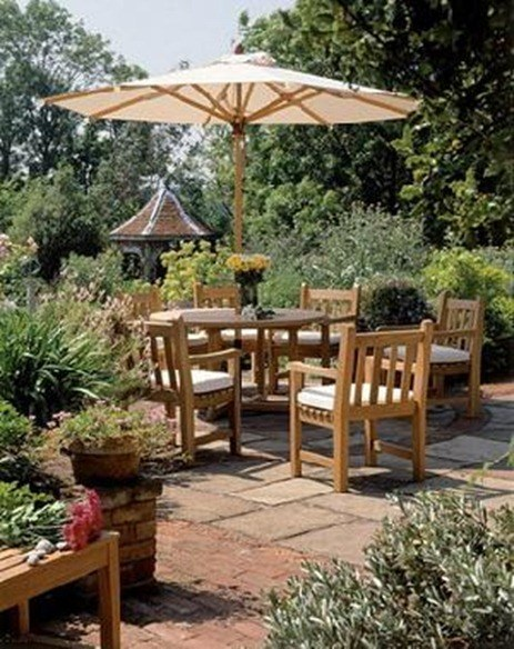 27329-England-Garden-Set-With-Round-Table-And-Umbrella-Teak-Teka-Outdoor-Furniture-Java-Bali-1