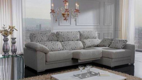 Sofa Moderno Com Chaise Chaise Longue Sofas Succeed