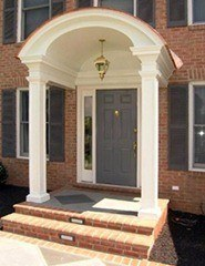 Arched-porch-entrance