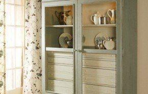 Muebles rústicos antiguos   Paula Deen