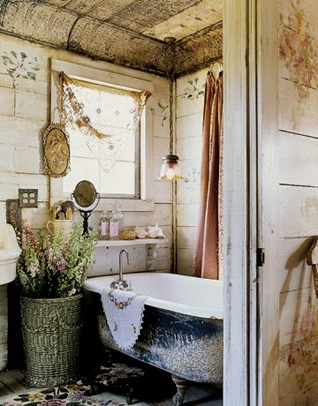 Baño Moderno Rustico:Rustic Bathroom This Love