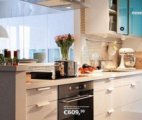 Materiales de las cocinas baratas