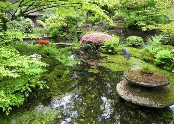 Decoraci n de exteriores jardines de vanguardia - Fotos jardines japoneses ...
