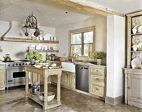 Kitchen-farmhouse-rustic countyr liv