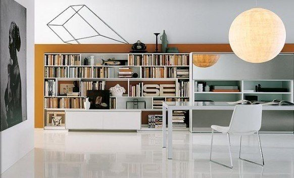 Bibliotecas dise o fotos Home furniture design clifton heights pa